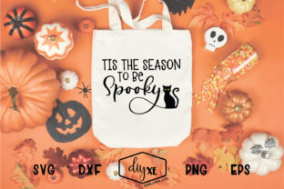 Tis the Season to Be Spooky Graphic By Sheryl Holst