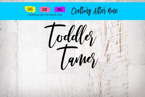 Print on Demand: Toddler Tamer Graphic Crafts By Crafting After Nine