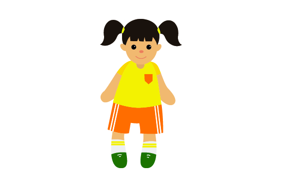 Download Free Toy Doll In Soccer Uniform Svg Cut File By Creative Fabrica for Cricut Explore, Silhouette and other cutting machines.