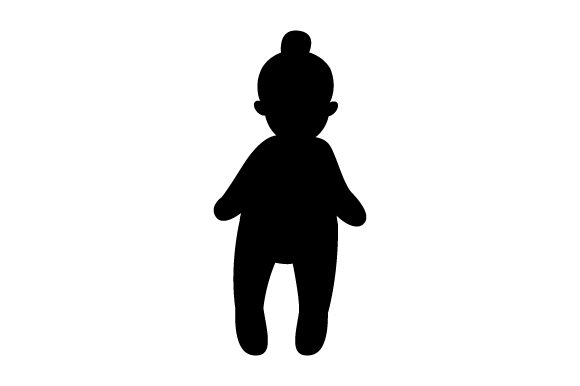 Download Free Toy Doll In Softball Uniform Svg Cut File By Creative Fabrica for Cricut Explore, Silhouette and other cutting machines.