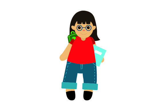 Download Free Toy Doll Student Svg Cut File By Creative Fabrica Crafts for Cricut Explore, Silhouette and other cutting machines.