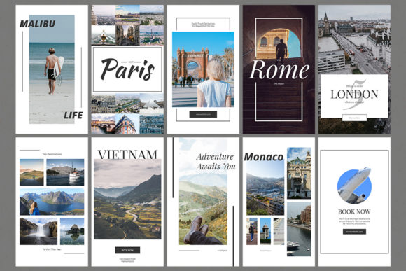 Download Free Travel Instagram Stories Grafico Por Web Donut Creative Fabrica for Cricut Explore, Silhouette and other cutting machines.