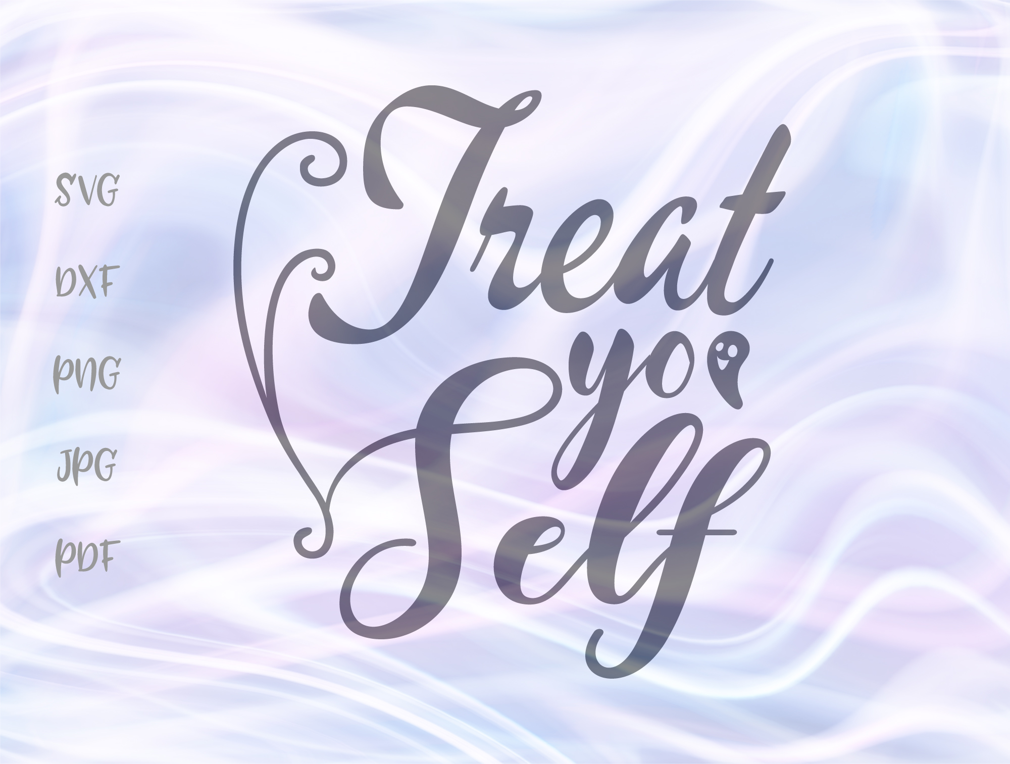 Treat Yo Self Happy Halloween Sign Graphic By Digitals By Hanna