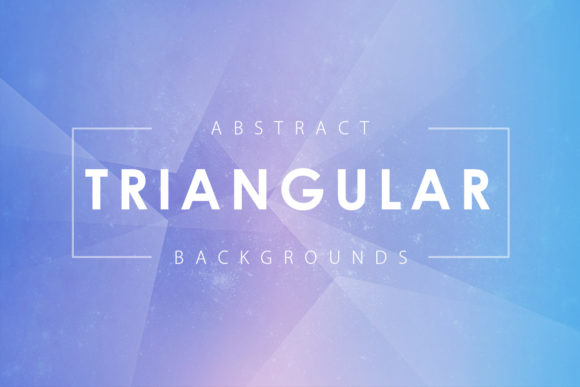 Print on Demand: Triangular Shapes Backgrounds Graphic Backgrounds By ArtistMef