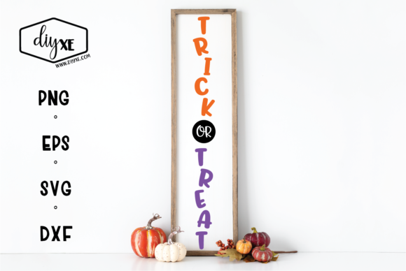 Trick or Treat Graphic By Sheryl Holst