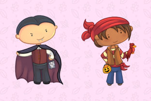 Print on Demand: Trick or Treat Clip Art Collection Graphic Illustrations By Keepinitkawaiidesign 5