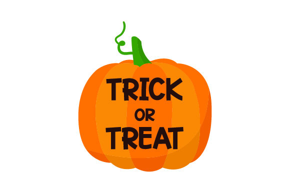 Download Free Trick Or Treat Carved Into Pumpkin Svg Cut File By Creative for Cricut Explore, Silhouette and other cutting machines.