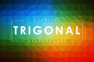 Trigonal Polygon Backgrounds Graphic By ArtistMef