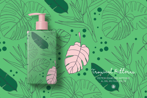 Tropical Patterns Graphic Design