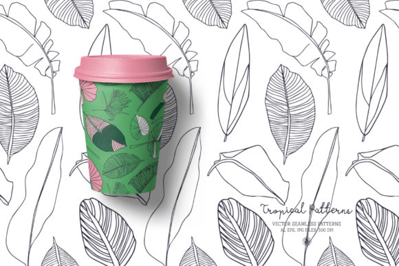 Tropical Patterns Graphic Preview