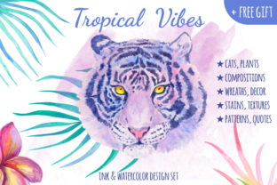 Tropical Vibes Graphic By annamagenta