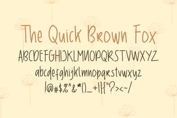 Tuesday Font By geadesign Image 2