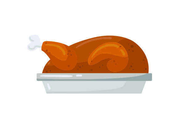 Download Free Turkey On A Plate Thanksgiving Svg Cut File By Creative for Cricut Explore, Silhouette and other cutting machines.