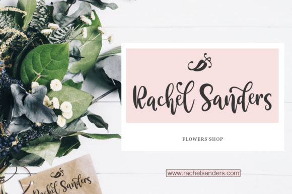 Print on Demand: Valencia Script & Handwritten Font By Pasha Larin - Image 5