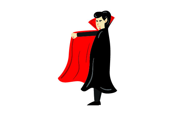 Download Free Vampire Halloween Svg Cut File By Creative Fabrica Crafts for Cricut Explore, Silhouette and other cutting machines.