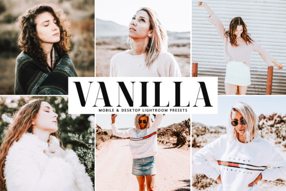 Print on Demand: Vanilla Lightroom Presets Pack Graphic Actions & Presets By Creative Tacos