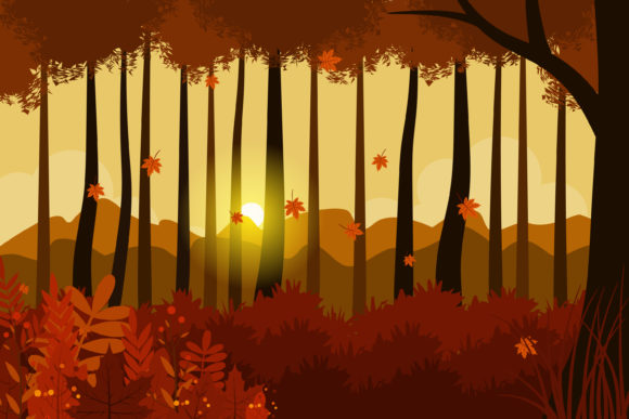 Print on Demand: Vector Design of Autumn Illustration Graphic Illustrations By sabavector