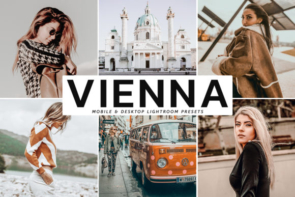 Print on Demand: Vienna Lightroom Presets Collection Graphic Actions & Presets By Creative Tacos