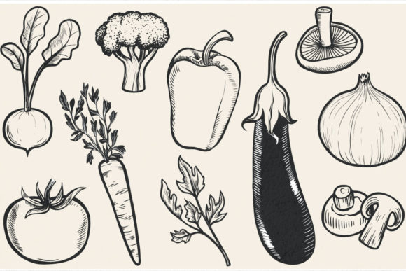 Print on Demand: Vintage Bundle- 250 Items Graphic Objects By tatiana.cociorva - Image 17