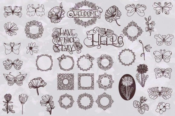 Print on Demand: Vintage Bundle- 250 Items Graphic Objects By tatiana.cociorva - Image 2