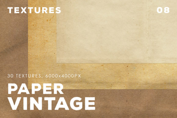 Download Free Vintage Paper Textures Vol 8 Graphic By Artistmef Creative Fabrica for Cricut Explore, Silhouette and other cutting machines.