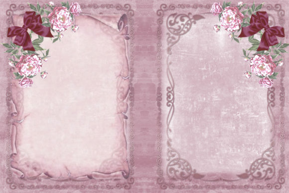 Print on Demand: Vintage Victorian Journal Scrapbook Kit Graphic Crafts By The Paper Princess - Image 6