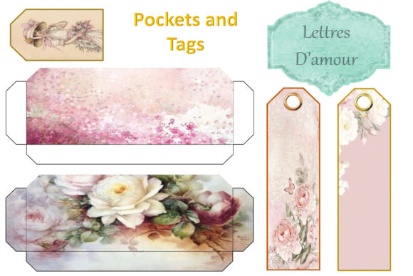 Print on Demand: Vintage Victorian Journal Scrapbook Kit Graphic Crafts By The Paper Princess - Image 7