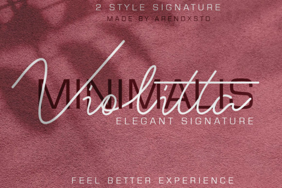 Download Free Violitta Font By Arendxstudio Creative Fabrica for Cricut Explore, Silhouette and other cutting machines.