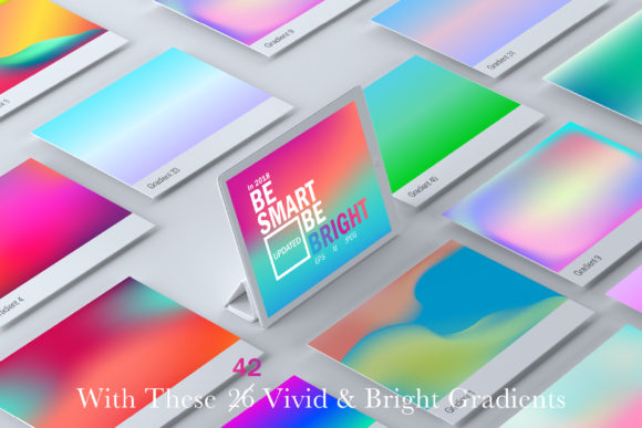 Vivid & Bright Gradients | Updated Graphic Add-ons By wilzondsgn