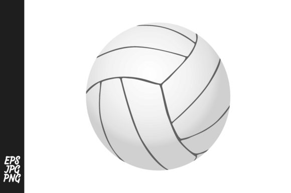 Print on Demand: Volleyball PNG Vector Graphic Crafts By Arief Sapta Adjie