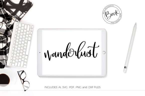 Download Free Wanderlust Graphic By Beckmccormick Creative Fabrica for Cricut Explore, Silhouette and other cutting machines.