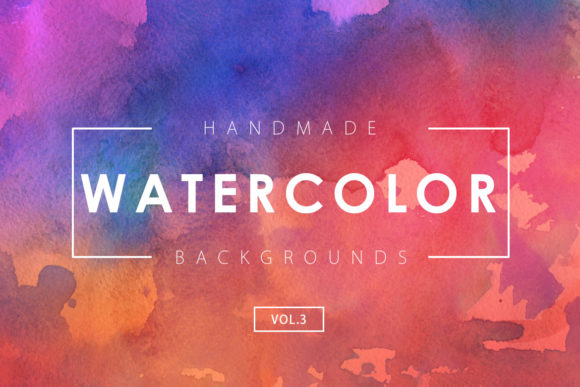 Print on Demand: Watercolor Backgrounds 3 Gráfico Fondos Por ArtistMef