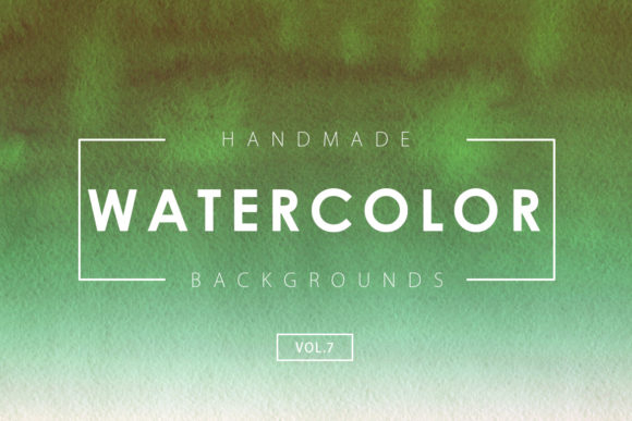 Print on Demand: Watercolor Backgrounds 7 Graphic Backgrounds By ArtistMef - Image 1