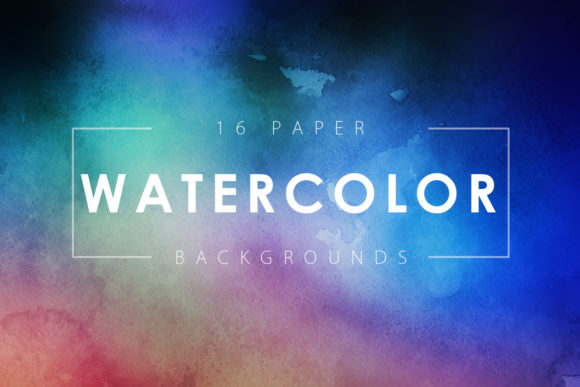 Print on Demand: Watercolor Paper Backgrounds Graphic Backgrounds By ArtistMef