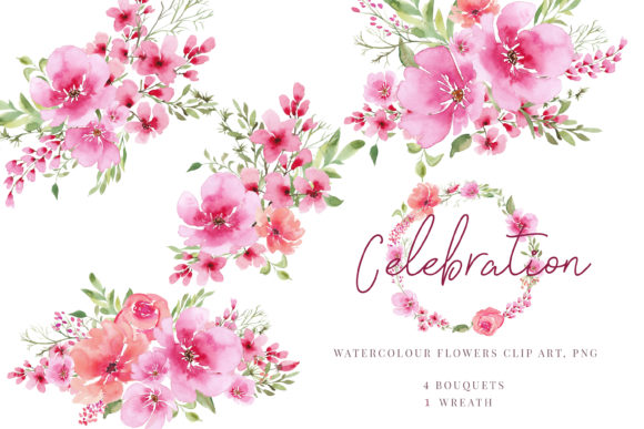 Print on Demand: Watercolour Clipart Graphic Illustrations By Primafox Design