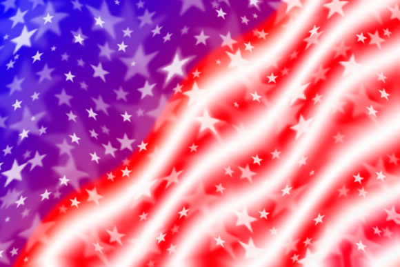 Download Free Waving American Flag Background Graphic By Tasipas Creative for Cricut Explore, Silhouette and other cutting machines.