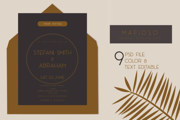 Wedding Invitation Graphic Graphic Templates By OMvavadharahap