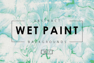 Wet Paint Textures 1 Graphic By ArtistMef