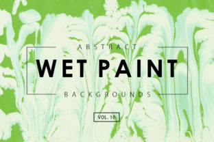 Wet Paint Textures 10 Graphic By ArtistMef