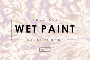 Wet Paint Textures 11 Graphic By ArtistMef