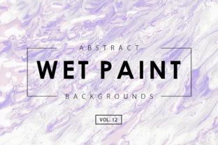 Wet Paint Textures 12 Graphic By ArtistMef