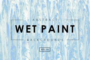 Wet Paint Textures 14 Graphic By ArtistMef
