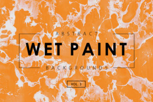 Wet Paint Textures 3 Graphic By ArtistMef