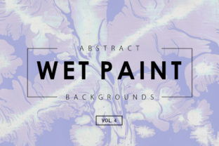 Wet Paint Textures 4 Graphic By ArtistMef
