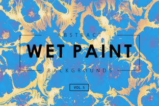 Wet Paint Textures 5 Graphic By ArtistMef