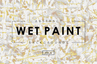 Wet Paint Textures 6 Graphic By ArtistMef