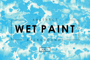 Wet Paint Textures 7 Graphic By ArtistMef