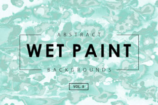 Wet Paint Textures 8 Graphic By ArtistMef