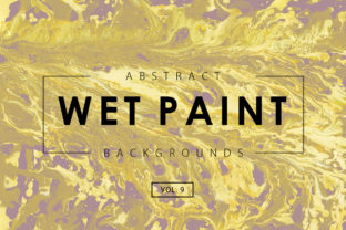 Wet Paint Textures 9 Graphic By ArtistMef