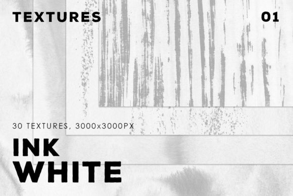 Print on Demand: White Ink Textures Vol.1 Graphic Backgrounds By ArtistMef